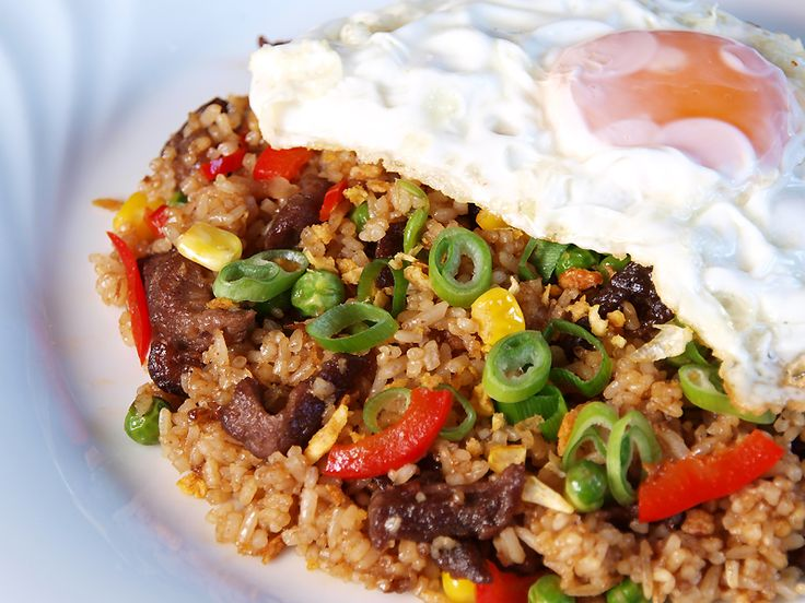 "Indonesian food... ""nasi goreng"""