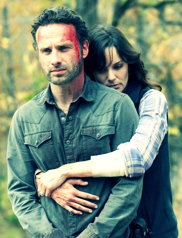 The Walking Dead- Lori & Rick Grimes
