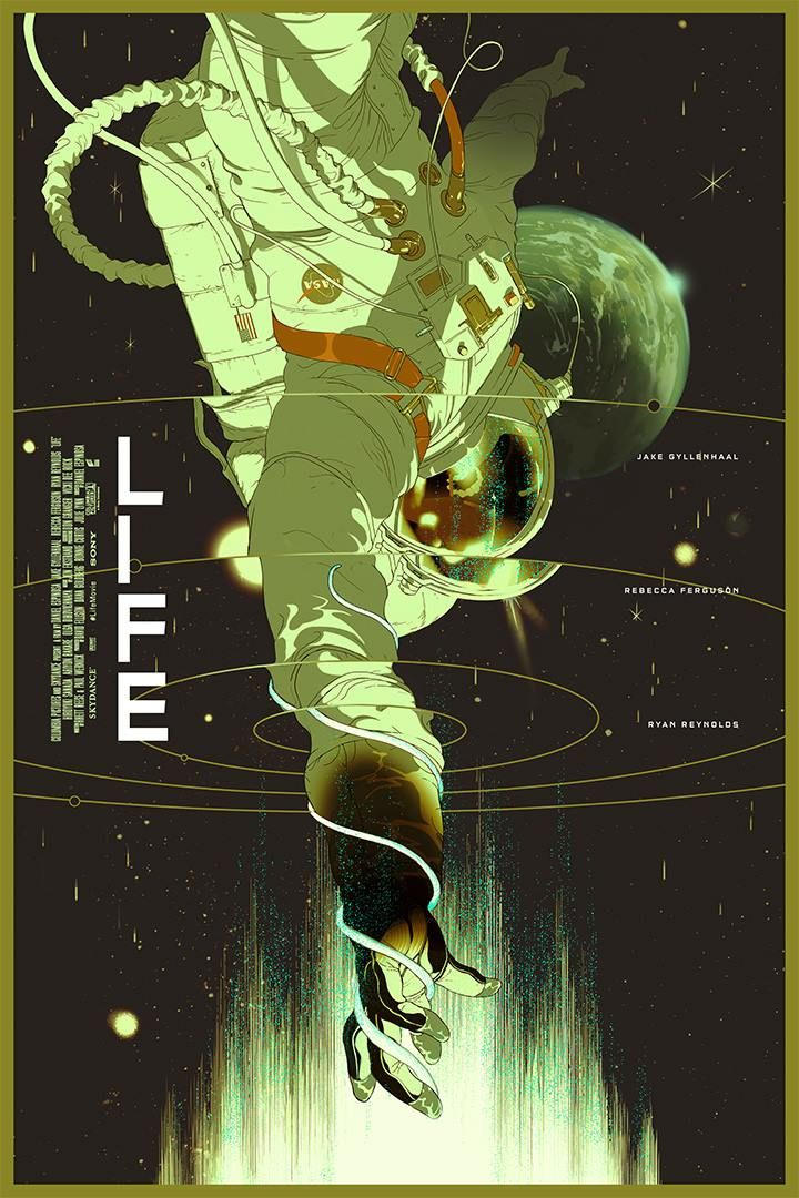 Life, by Tomer Hanuka #tomerhanuka #lifeprint