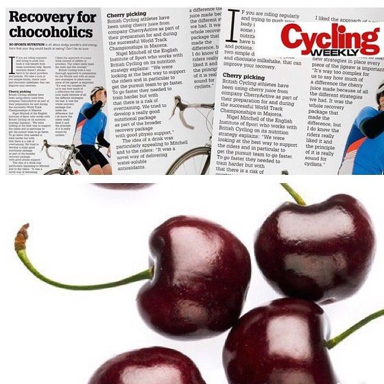 #recovery for #chocoholic #cyclists @cyclingweeklymagazine  @cherryactiveaustralia So #sports #nutrition is all about dodgy #powders and #energy bars that your dog would bark at eating? Dont be so sure.  If you are riding regularly and trying to push your #body it will benefit from some nutritional help. Sports nutrition doesnt always have to be about powders and potions. We take a look at two simple drinks cherry juice and chocolate milkshake that can improve your #recovery.  Cherry picking…