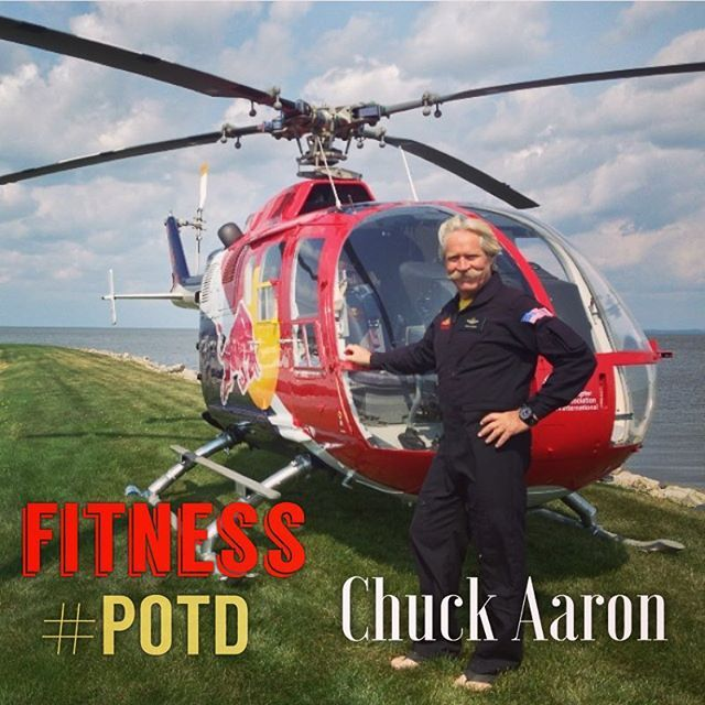 Today's Fitness Person of the Day #POTD is Aerobatic Helicopter Pilot Chuck Aaron @chuckpaaron  Chuck is one of only 3 people in the world that hold aerobatic helicopter licenses. Chuck is another great example of unconventional athletes that have to develop aspects of their mind & body to perform at the peak of their abilities; which we love at Untold Fitness. Oh, and he rocks a sweet 'stache; maybe deserves #POTD for that alone.