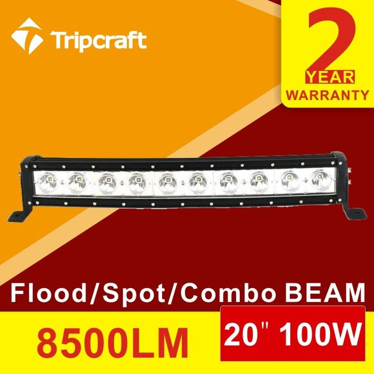 107.89$  Watch here - http://ali5ep.worldwells.pw/go.php?t=32753217565 - Tripcraft Free shipping! 20 inch 100W CURVED LED LIGHT BAR LED RAMP LAMP OFFROAD for all vehicles with high low beam function