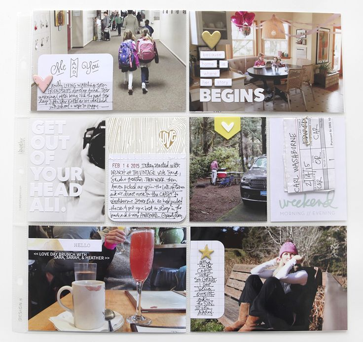 Add chipboard letters and journaling directly to photos (Ali Edwards | Blog: Project Life® 2015 | Week Six)