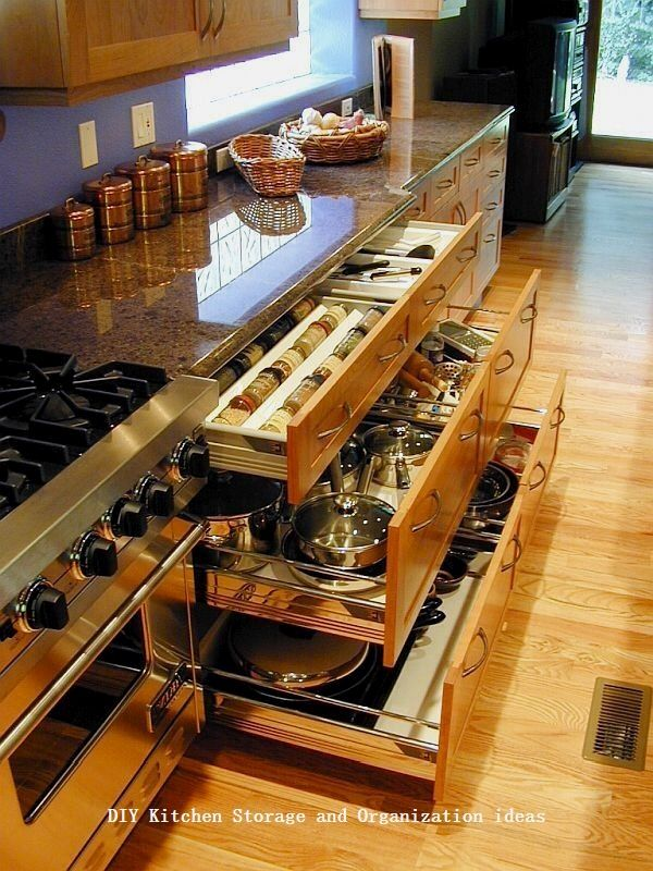 10 Insanely Sensible DIY Kitchen Storage Ideas 31 in 2018 Home