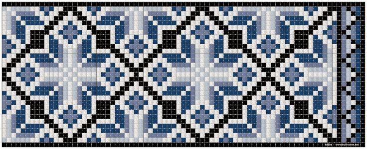 Φορεσιά, κοσμήματα, ιστοί & Tole Ζωγραφική: μοτίβο Kvarde σταυροβελονιά
