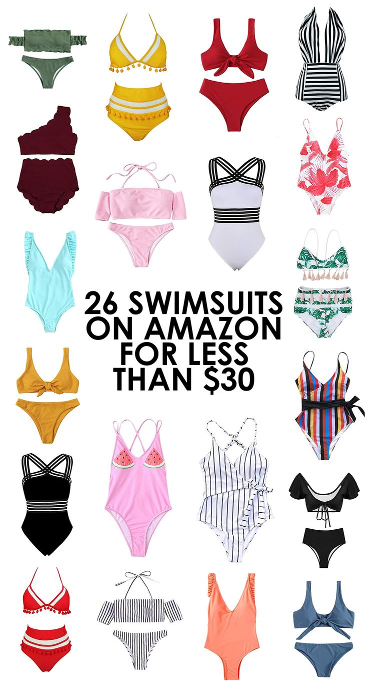 26 Swimsuits on Amazon for Less than $30