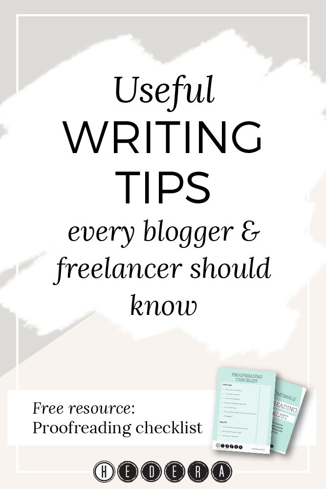 Superb Jul 23 Useful Writing Tips Every Blogger U0026 Freelancer Should Know