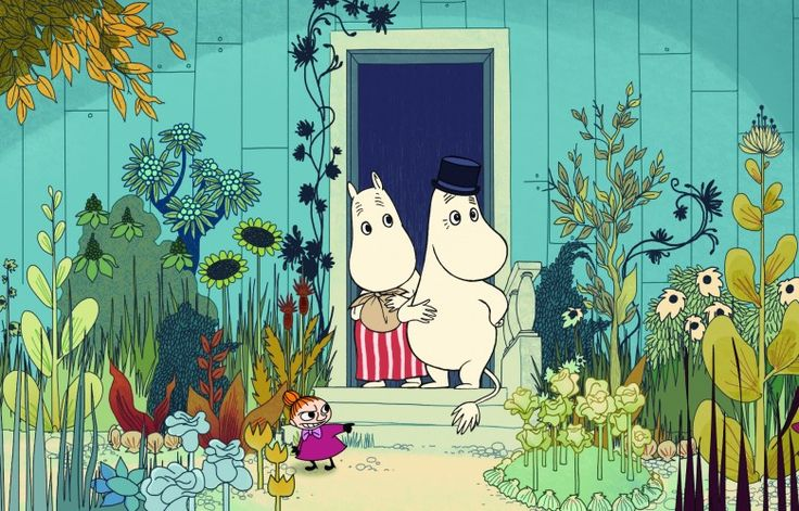 .Moomin( original story and illustration's by Towe Jansson)