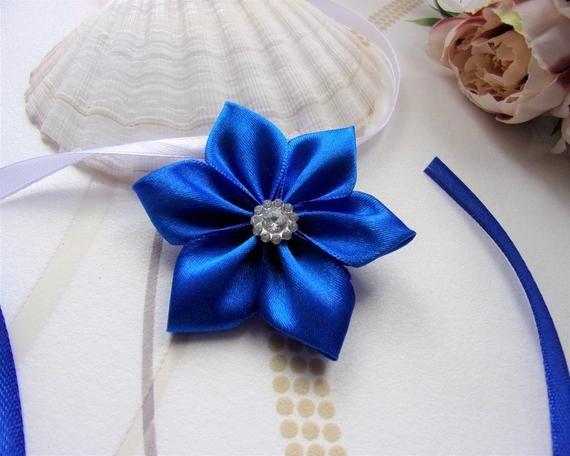 Baby Stretch Headband Flowers Rhinestones Embellished ASSTD COLOURS **REDUCED**