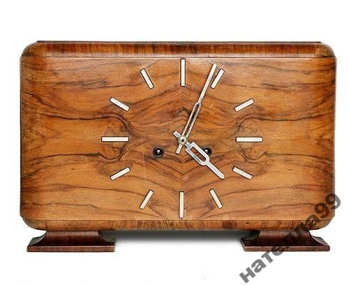 * Ар-Деко. Часы с боем Maute Германия 1920-30 е г.