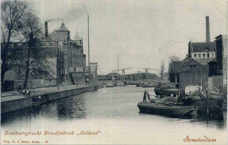 Amsterdam Zoutkeetsgracht Brood Fabriek Holland