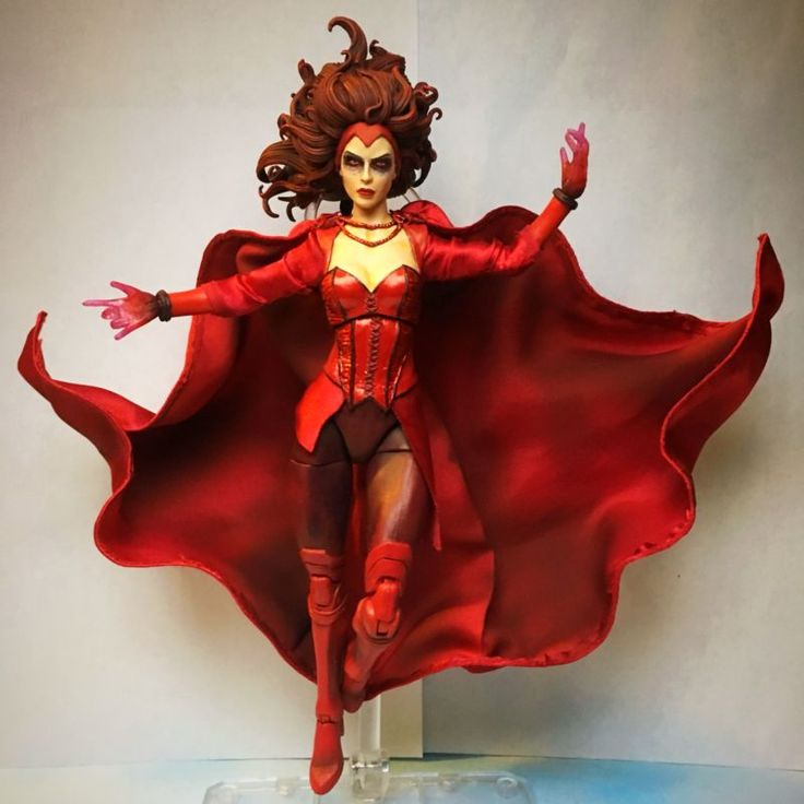 Scarlet Witch (original concept) (Marvel Legends) Custom Action Figure