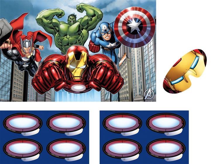 Jeu Avengers ™  et un choix immense de décorations pas chères pour anniversaires, fêtes et occasions spéciales. De la vaisselle jetable à la déco de table, vous trouverez tout pour la fête sur VegaooParty