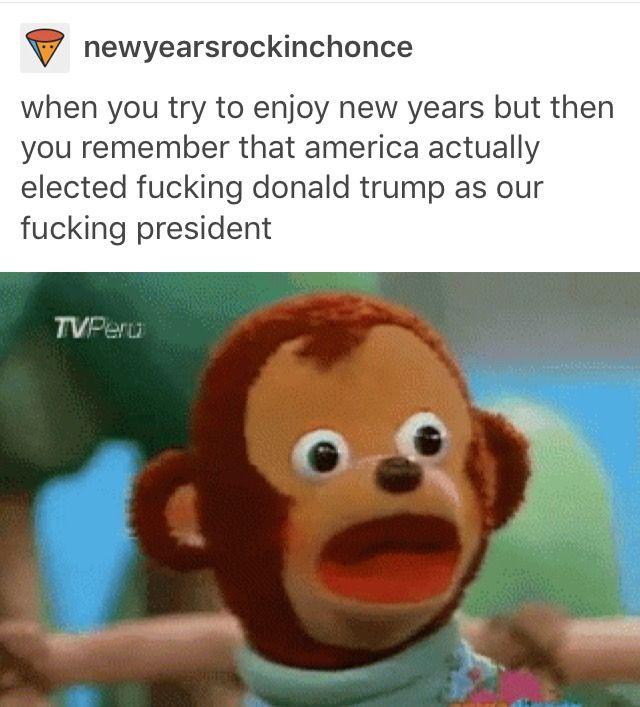 I don't like Trump