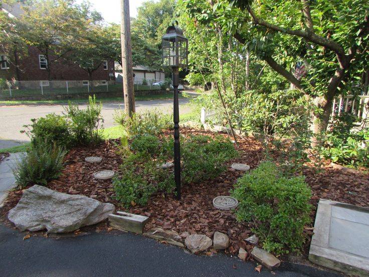 Landscaping With Wood Mulch : Best images about wood chips for landscaping on