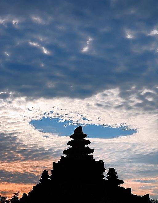 Plaosan Temple. Yogyakarta, Indonesia