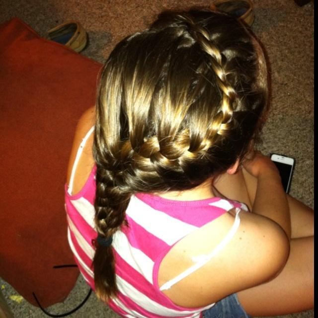 snake french braid hair pinterest braids