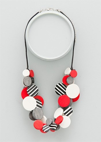 #TS14+ Candy Stripes Necklace #plussize #curvy