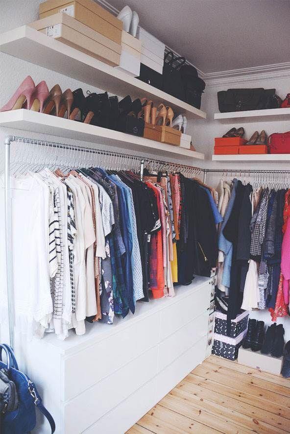 Modernistisk Walk in closet – 10 inspirerende løsninger til din garderobe - ALT AG-92