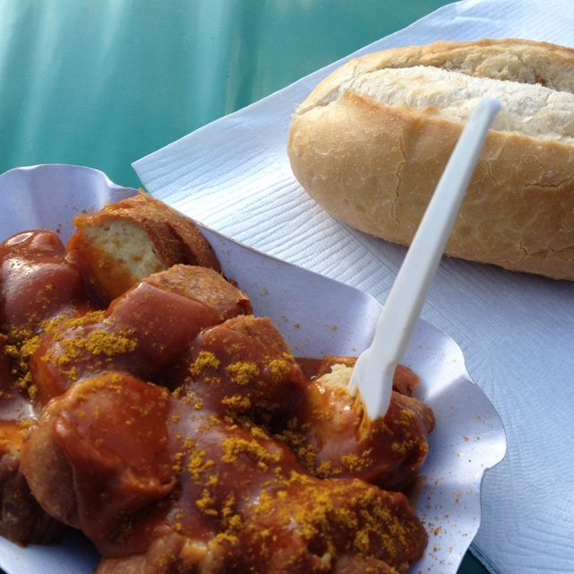 Currywurst :) - Why cant you buy this in England!!