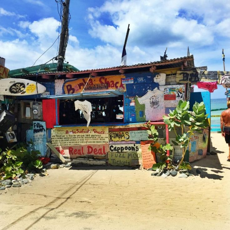 Bomba's Shack, Tortola, British Virgin Islands