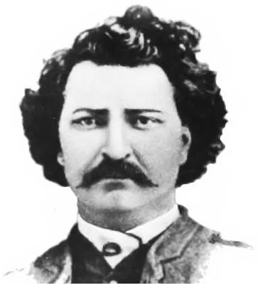 the man that got hanged for treason...Louis Riel