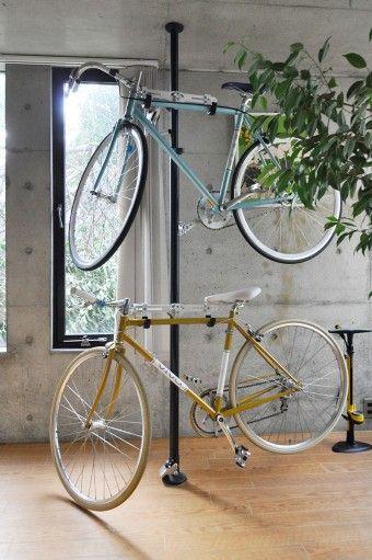 Como guardar suas bicicletas
