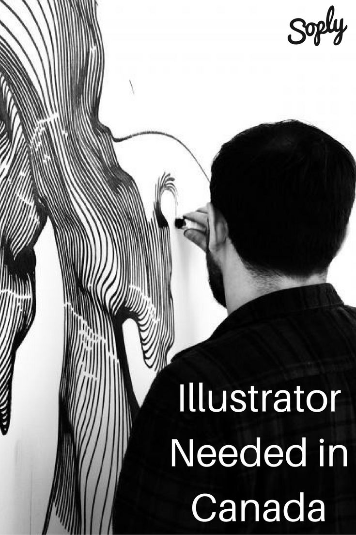 #Freelance #illustrator needed for a one-page #biography. The #client is based in #Canada. See the #job and apply by clicking the pin!