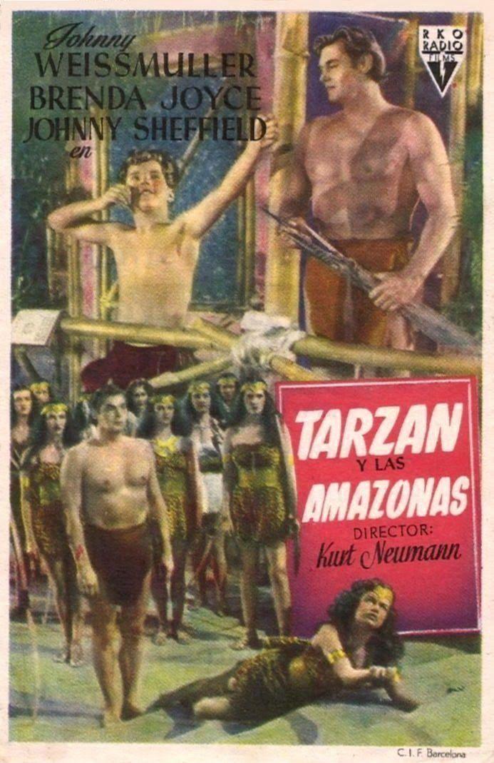 Tarzan Y Las Amazonas Programa De Cine Cine Y Peliculas Cine