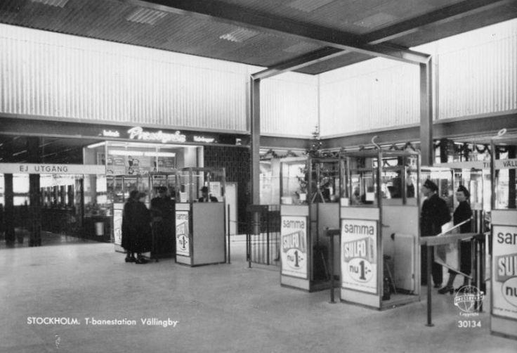 tunnelbanestationen i Vällingby