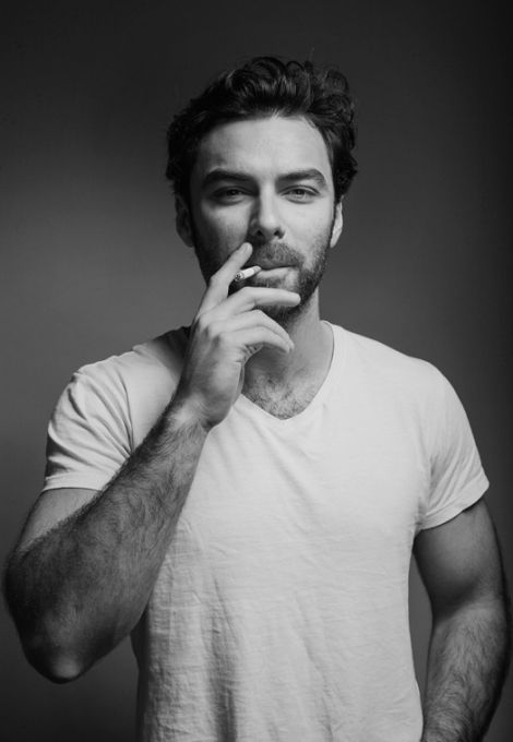 aidan turner b&w photos | Two new photos of Aidan Turner photographed by Dean O'Gorman