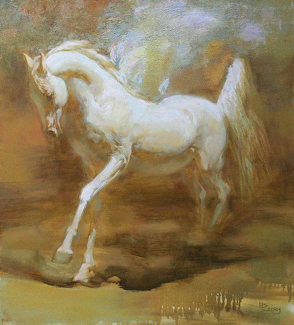 White Pegasus (Белый Пегас) by Inna Tsukakhina, via Flickr