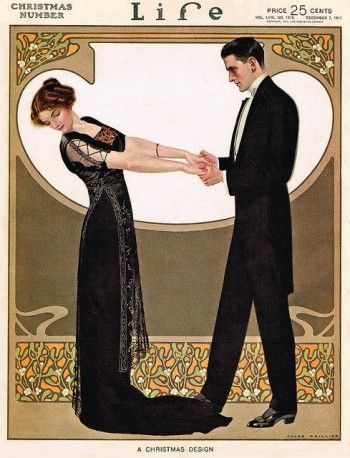 1911 Formal Dinner Dress, Titanic Fashion. Titanic Fashion – 1st Class Women's Clothing. Sail the Titanic with first class passengers in the finest 1912 fashion clothing. Learn the history at VintageDancer.com/titanic: