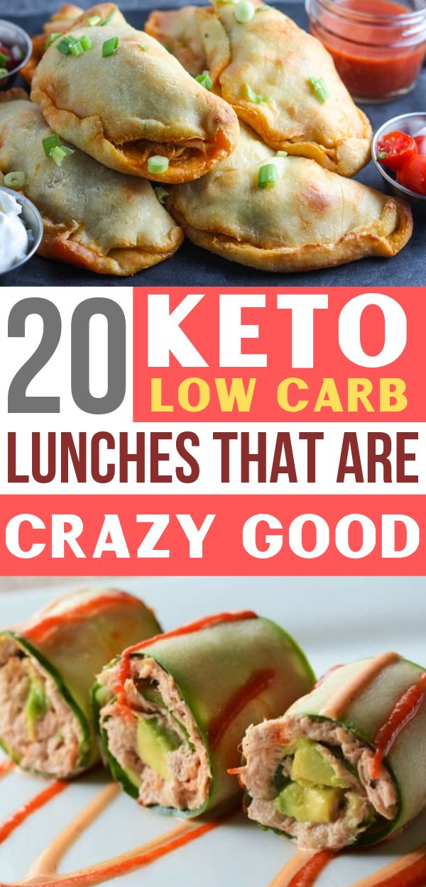 Easy Keto & Low Carb Mittagessen !! Sie werden sich nicht langweilen von diesen …