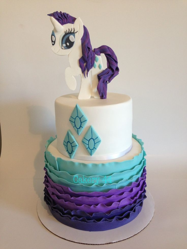 My Little Pony, Rarity cake by Cakery 44