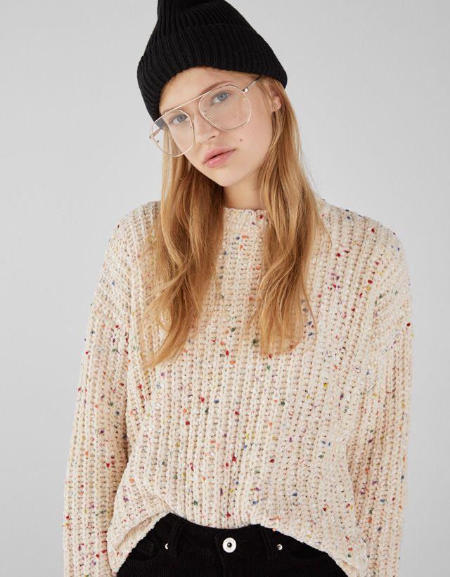 Knitwear Clothing Women Bershka United States Fashion Clothes For Women Women
