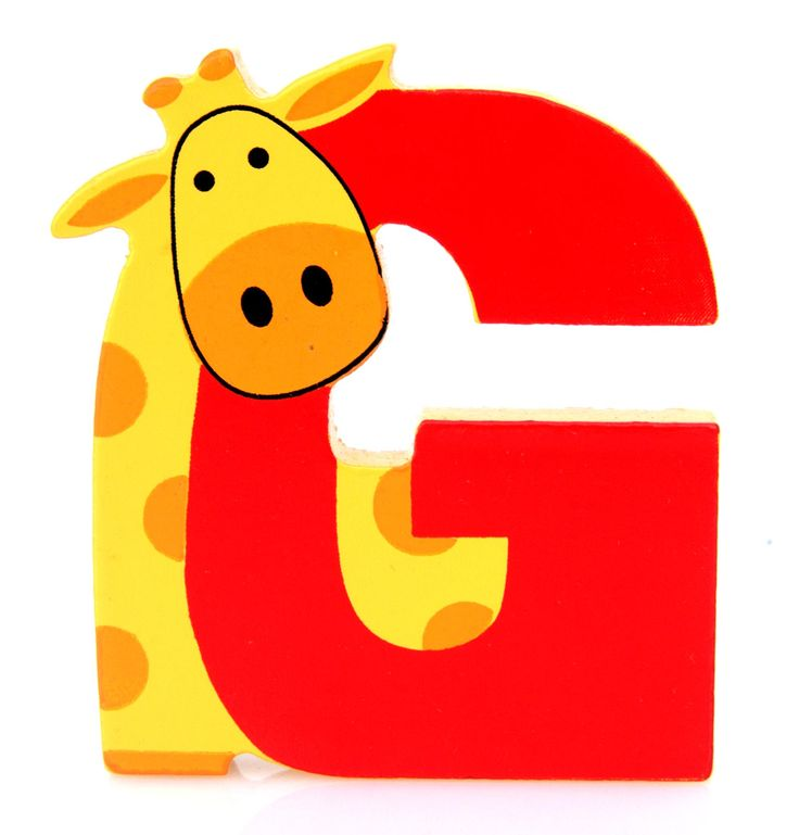 Simpatica lettera G in Legno con l'aspetto di una Giraffa, per decorare e rendere più bella la cameretta componendo nomi, frasi. Sono disponibili tutte le lettere dell'alfabeto  Si puo' fissare con colla, biadesivo oppure Può essere appoggiata su una mensola oppure si puo' fissare con colla o biadesivo o possono anche essere utilizzate per giocare.  Dimensioni cm 6,5 x 7,5 x 1  Materiale: Legno.   I colori possono cambiare in base alle disponibilita'