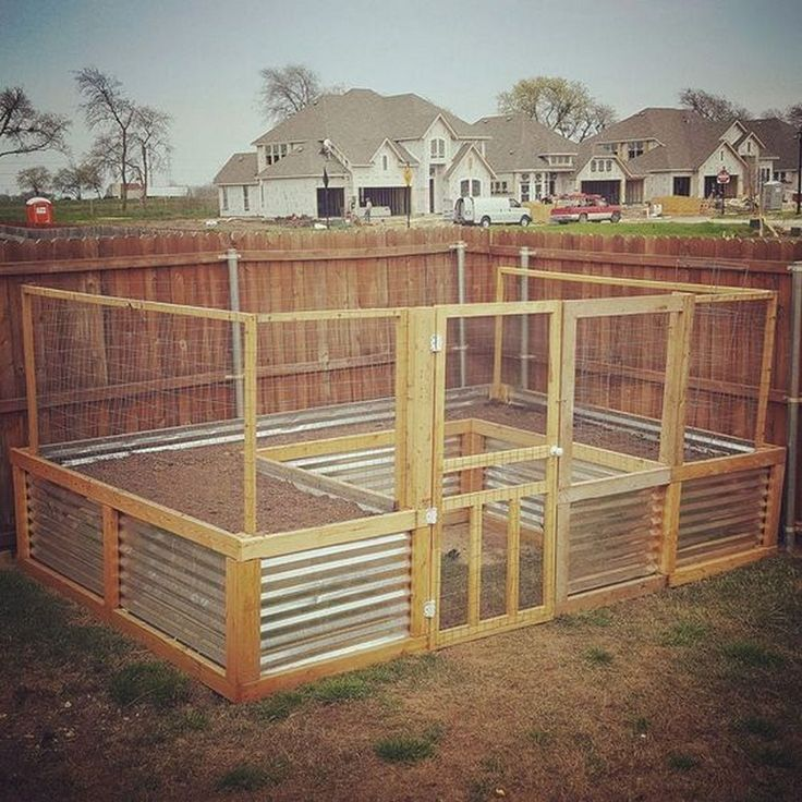 Raised Garden Bed Construction: Make Your Own Raised Garden Bed With Screen