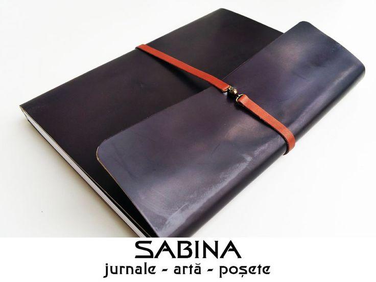 85 LEI | Jurnale handmade | Cumpara online cu livrare nationala, din Timisoara. Mai multe Papetarie in magazinul ArtGallerySABINA pe Breslo.