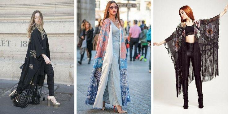 35 wunderschöne Modelle von Kimonos Trend 2018