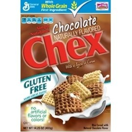 Chocolate Chex Gluten Free Cereal..
