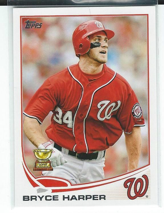 Details About 2013 Topps 1 1a Bryce Harper Nationals Mint
