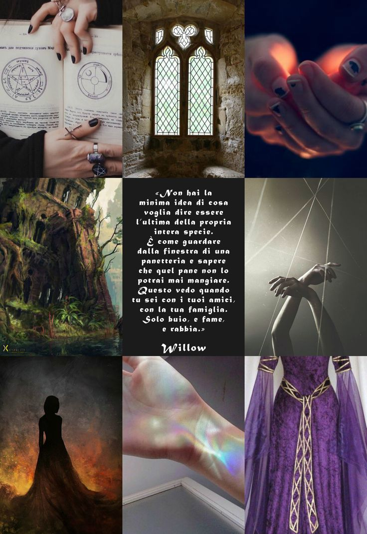 """Willow è un personaggio di """"Soffitti Sconosciuti"""", ©Elena De Martino (Frase e descrizione in italiano)"""
