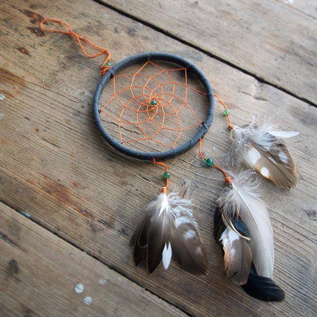 """Ловец снов """"Валькирия"""" • деревянный обруч • хлопковые ленты • хлопковое плетение • зеленый нефрит • чешское стекло • перья ястреба, лесного голубя, дятла, петуха и тетерева _______________________________________ пиши в WhatsUp: 89258434428   директ   комментарии -> мы беремся за исполнение любых идей _______________________________________ #dreamcatcher#handmade#beads#witch#witchcraft#rosequartz#feathers#pagan#forsale#ловецснов#перья#нефрит#напродажу"""