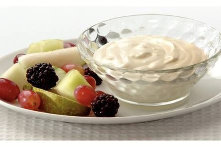 Yoghurt panna cotta met herfstsalade