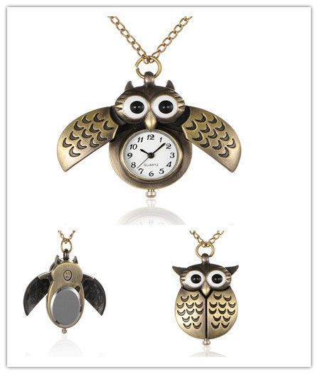 Owl Quartz Pocket Watch (FREE SHIPPING)