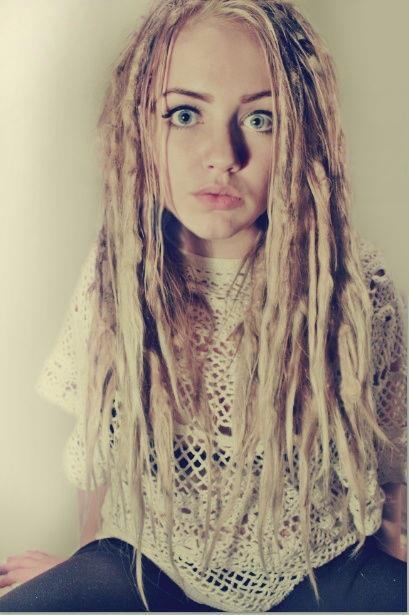 Blonde Girl Hairstyle : Best 25 blonde dreads girl ideas on pinterest dreadlocks