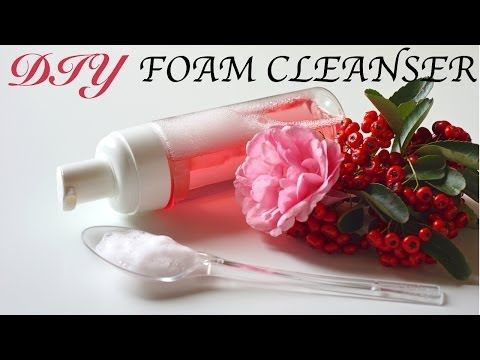 DIY Foam Facial Cleanser (Homemade Face Wash!) - YouTube