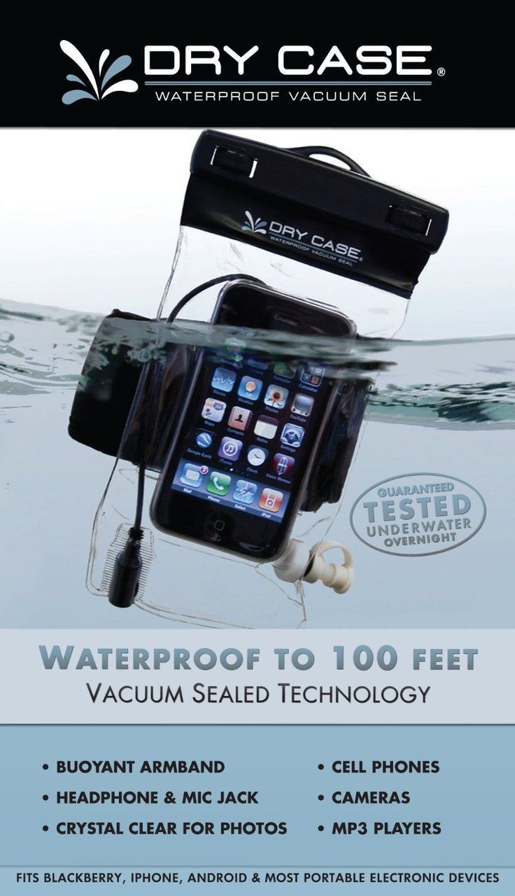 DC-13 Dry Case Dry Case Waterproof Phone, Camera, Iphone MP3 Case