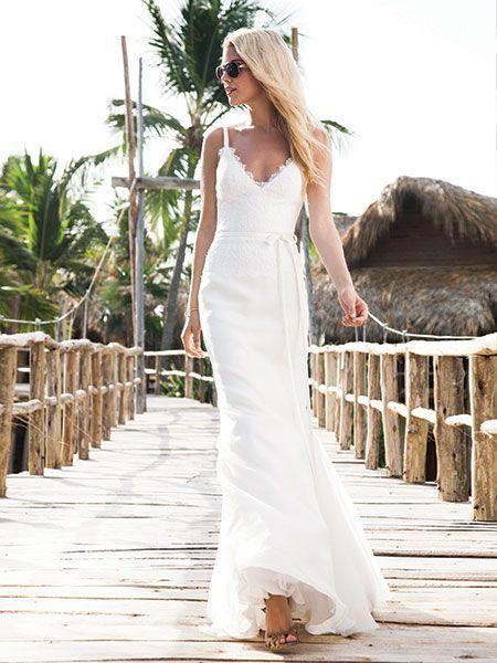 Summer Wedding Dresses - Beach Wedding Dresses | Wedding Planning, Ideas & Etiquette | Bridal Guide Magazine